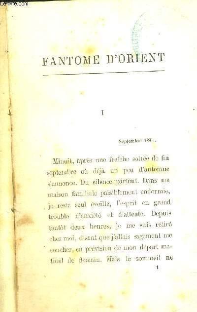FANTOME D'ORIENT