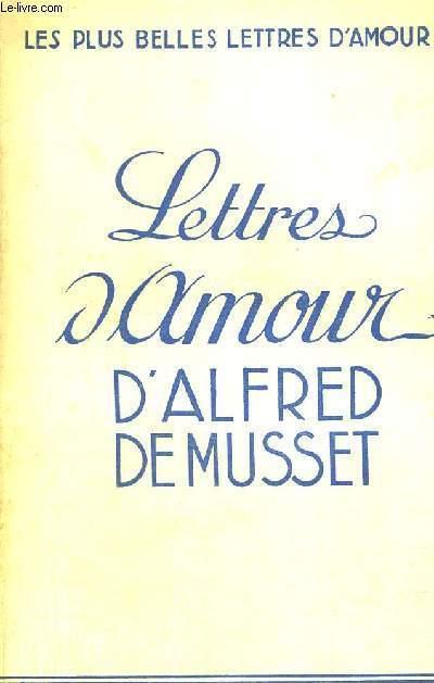LETTRES D'AMOUR - LES PLUS BELLES LETTRES D'AMOUR