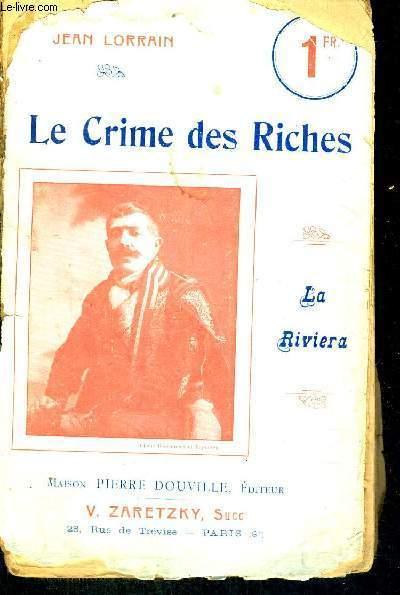 LE CRIME DES RICHES