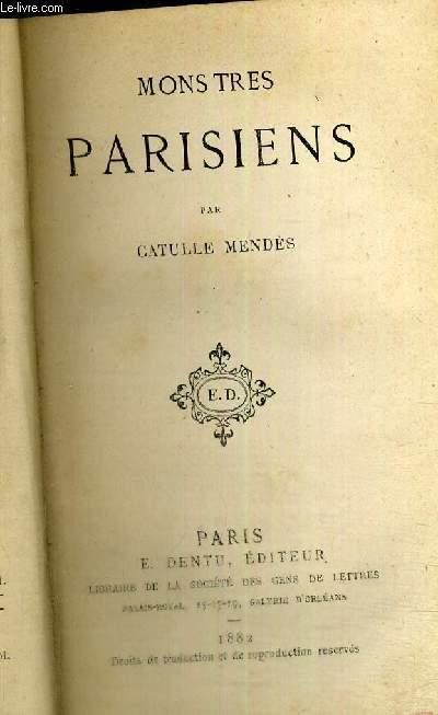 MONSTRES PARISIENS