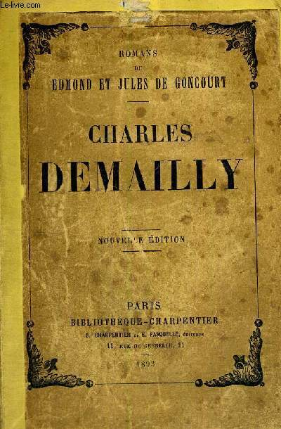 CHARLES DEMAILLY - NOUVELLE EDITION
