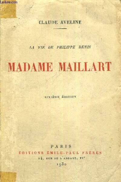 MADAME MAILLART