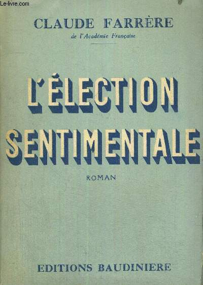 L'ELECTION SENTIMENTALE