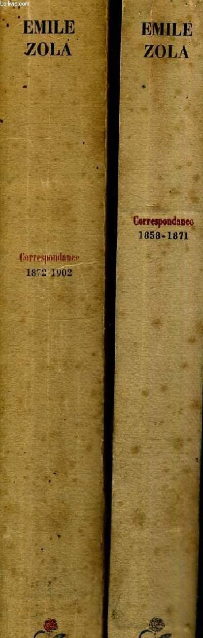 CORRESPONDANCE - 2 VOLUMES - TOMES 1 ET 2  - 1858 -1902