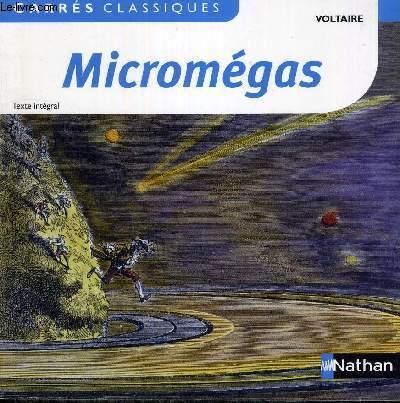MICROMEGAS - CARRES CLASSIQUES - TEXTE INTEGRAL