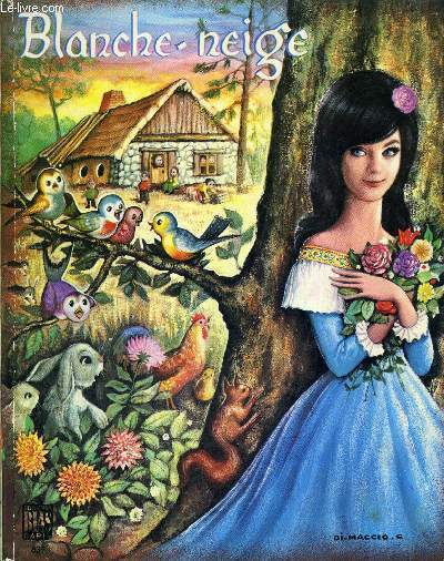 BLANCHE NEIGE - COLLECTIONS PAPILLONS