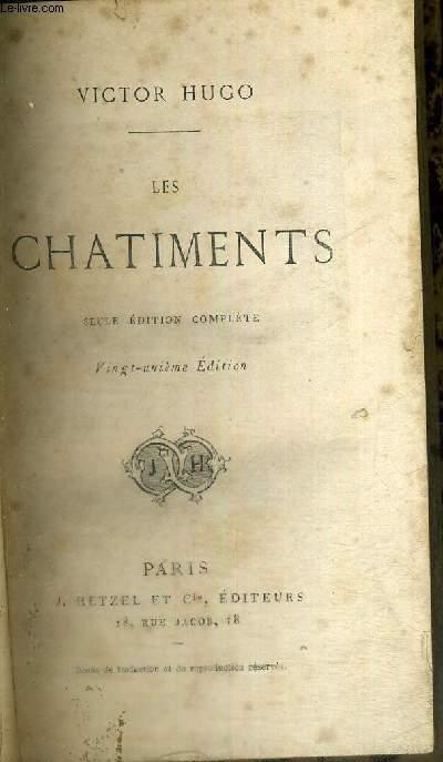 LES CHATIMENTS - 21E EDITION - SEULE EDITION COMPLETE
