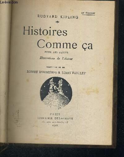 HISTOIRES COMME CA - 10E EDITION