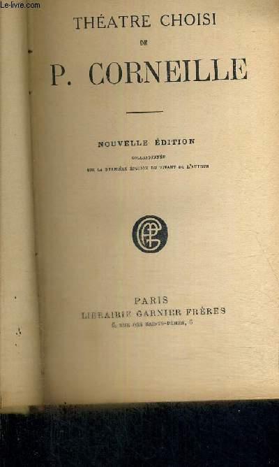 THEATRE CHOISI DE P.CORNEILLE