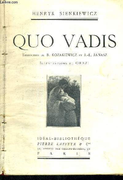 QUO VADIS - IDEAL BIBLIOTHEQUE