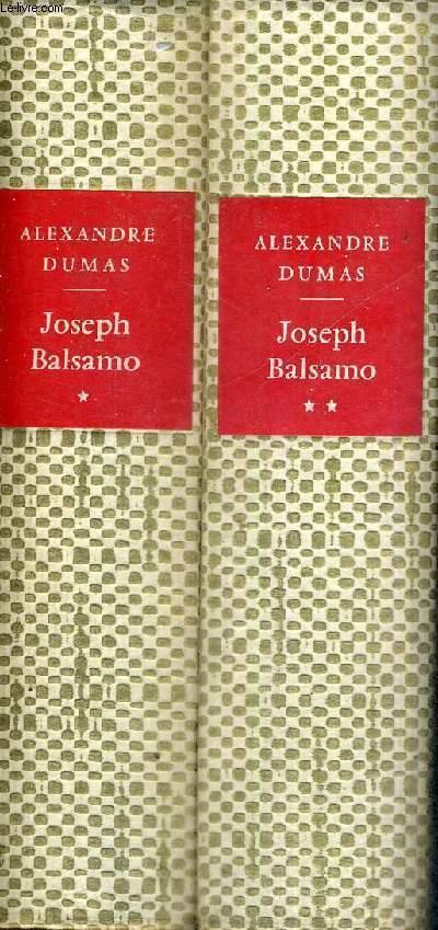 JOSEPH BALSAMO - MEMOIRES D'UN MEDECIN - 2 VOLUMES - TOMES 1 ET 2