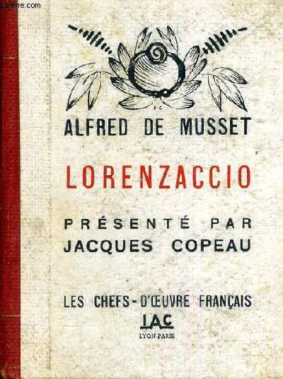 LORENZACCIO - LES CHEFS D'OEUVRE FRANCAIS