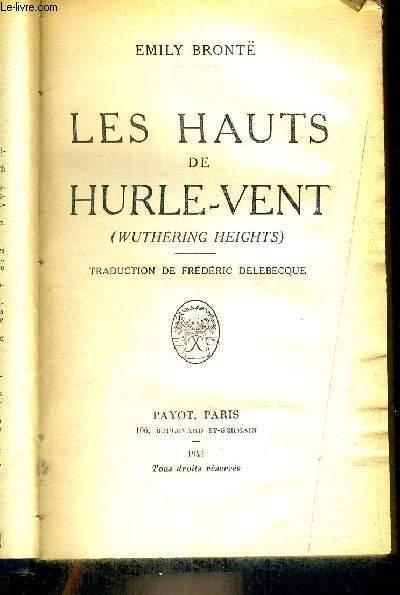 LES HAUTS DE HURLE VENT