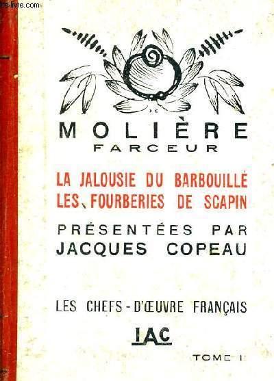 LA JALOUSIE DU BARBOUILLE - LES FOURBERIES DE SCAPIN - TOME 2