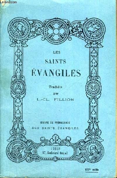 LES SAINTS EVANGILES - OEUVRE DE PROPAGANDE DES SAINTS EVANGILES - EDITION DE PROPAGANDE 173E MILLE