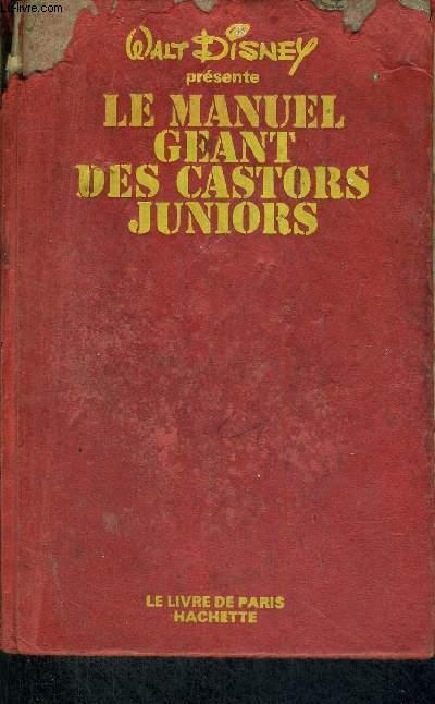 LE MANUEL GEANT DES CASTORS JUNIORS