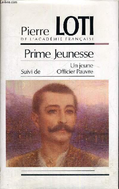 PRIME JEUNESSE - UN JEUNE OFFICIER PAUVRE