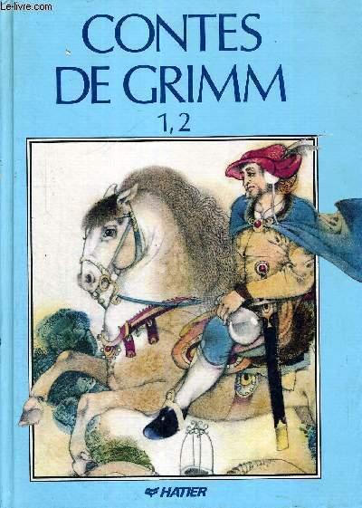 CONTES DE GRIMM - 1,2