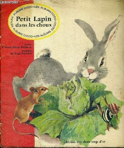 PETIT LAPIN DANS LES CHOUX - LES ALBUMS DODO