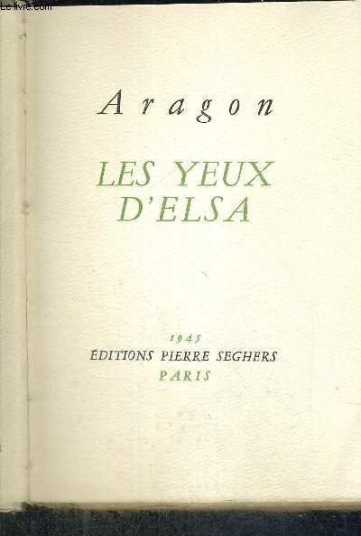 LES YEUX D'ELSA - EXEMPLAIRE N°107