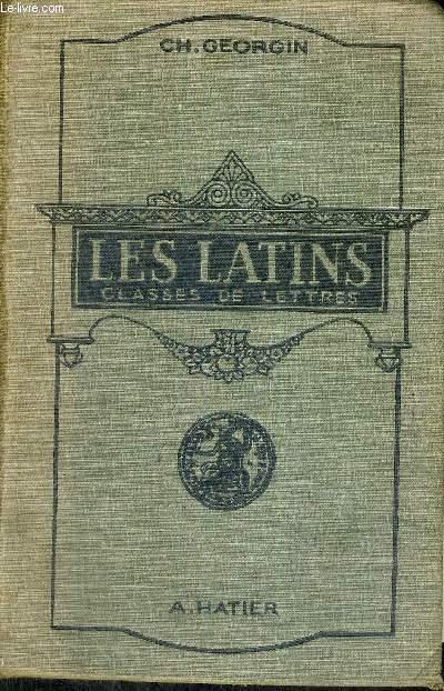 LES LATINS - CLASSES DE LETTRES - TEXTE EN FRANCAIS ET EN LATIN