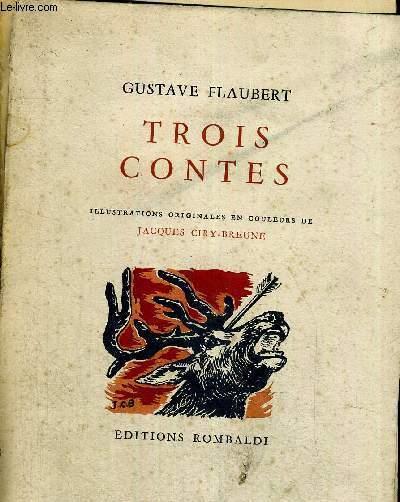 TROIS CONTES - EXMPLAIRE N°4679