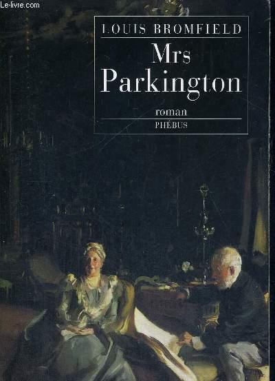 MRS PARKINGTON