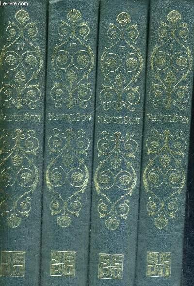 NAPOLEON - PAR CEUX QUI L'ONT CONNU - 4 VOLUMES - TOMES 1 A 4 - EXEMPLAIRE N°02405