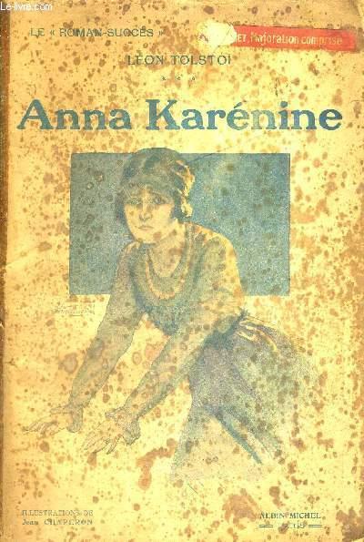 ANNA KARENINE - LE ROMAN SUCCES