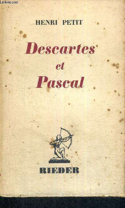 IMAGES - DESCARTES ET PASCAL
