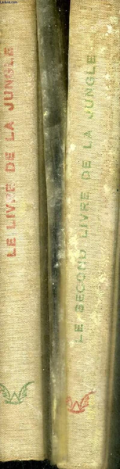 LE LIVRE DE LA JUNGLE - LE SECOND LIVRE DE LA JUNGLE -  2 VOLUMES - EXEMPLAIRE N°860