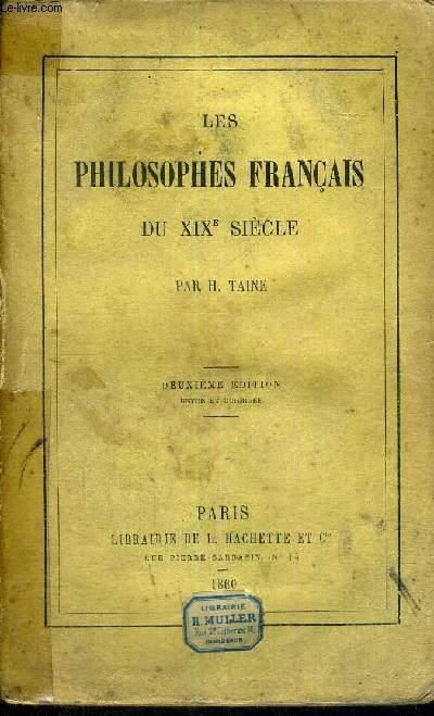 LES PHILOSOPHES FRANCAIS DU XIX E SIECLE