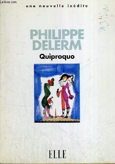 QUIPROQUO -UNE NOUVELLE INEDITE