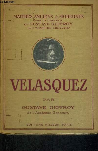 VELASQUEZ - MAITRES ANCIENS ET MODERNES