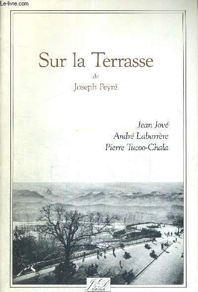 SUR LA TERRASSE - EXEMPLAIRE N°96