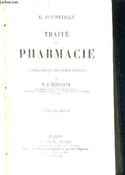 TRAITE DE PHARMACIE - TOME 2 - 8EME EDITION
