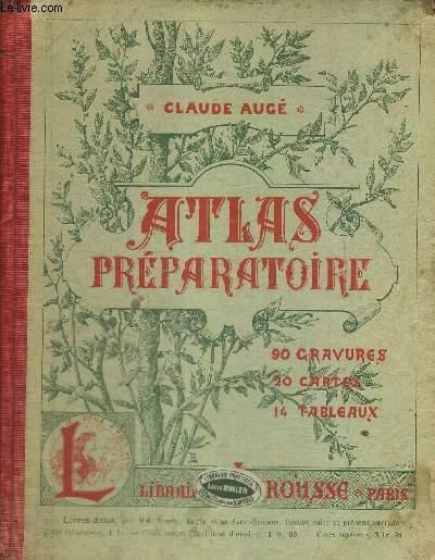 ATLAS PREPARATOIRE - LECONS - LECTURES - QUESTIONNAIRES ET DEVOIRS - EXERCICES D'ELOCUTION