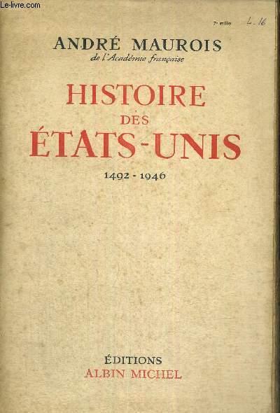 HISTOIRE DES ETATS-UNIS 1492-1946
