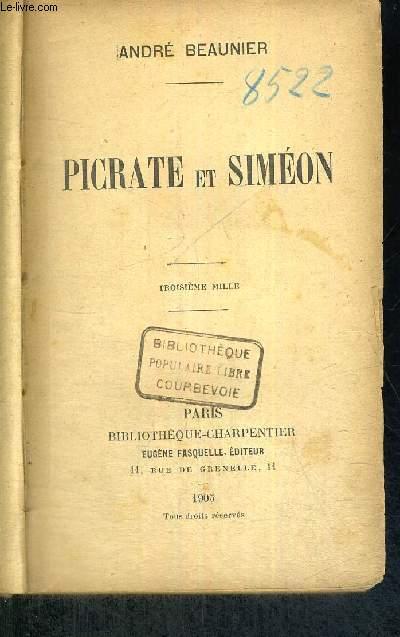 PICRATE ET SIMEON