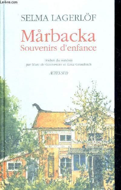 MARBACKA - SOUVENIRS D'ENFANCE