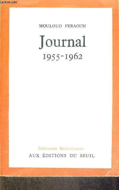 JOURNAL - 1955-1962 - COLLECTION MEDITERRANEE