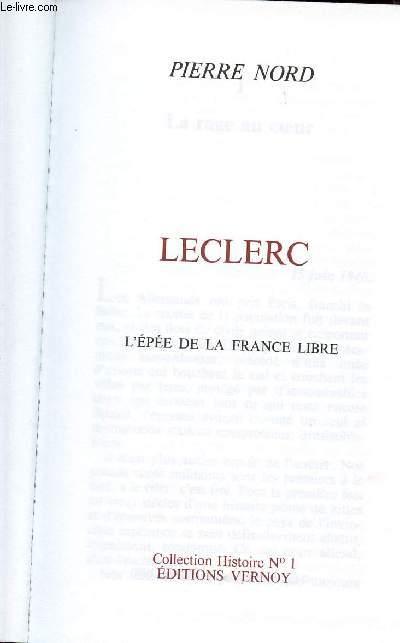 LECLERC,  L'EPEE DE LA FRANCE LIBRE