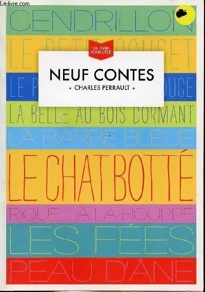 NEUFS CONTES/ UN LIVRE POUR L'ETE