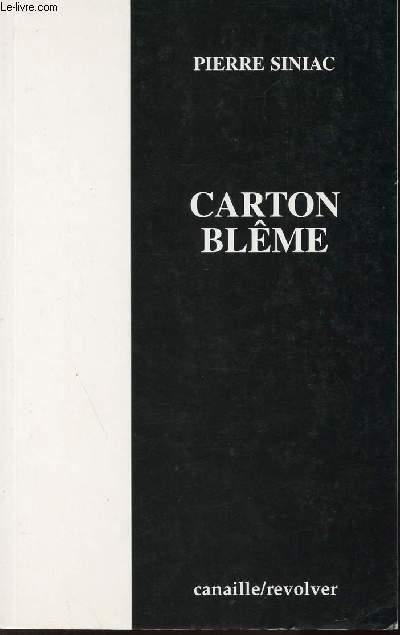 CARTON BLEME