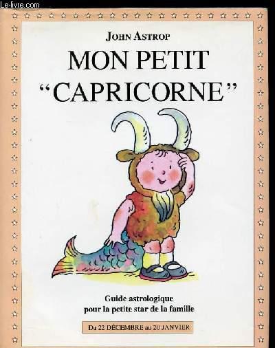 MON PETIT CAPRICORNE