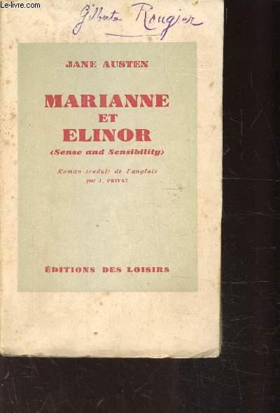 MARIANNE ET ELINOR ( SENSE AND SENSIBILITY )