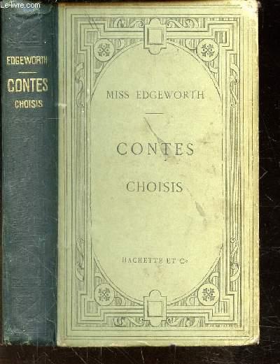 CONTES CHOISIS -Publiés avec une notice et des notes par J. Motheré.