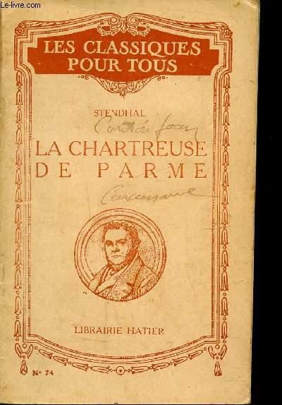 LA CHATREUSE DE PARME / N°74 DE LA COLLECTION