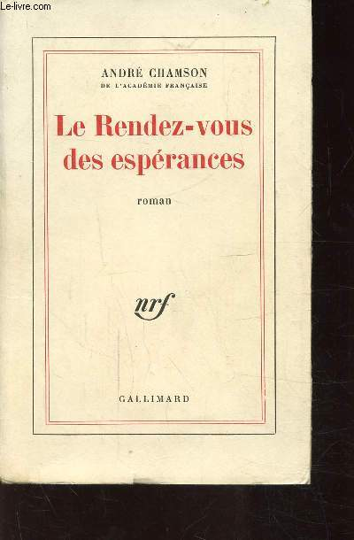 LE RENDEZ-VOUS  DES ESPERANCES
