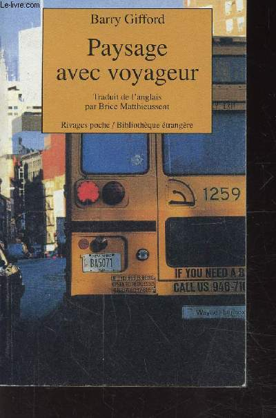 PAYSAGE AVEC VOYAGEUR